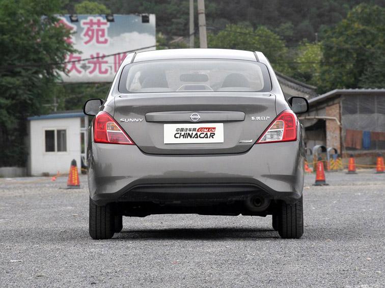 阳光 2014款 1.5XE MT舒适版车身外观图片