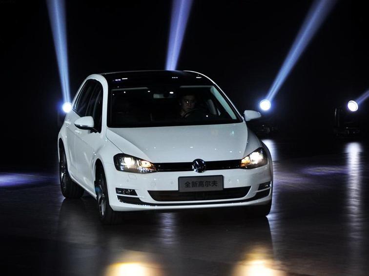 高尔夫 2014款 1.6L 手动时尚型车展活动图片