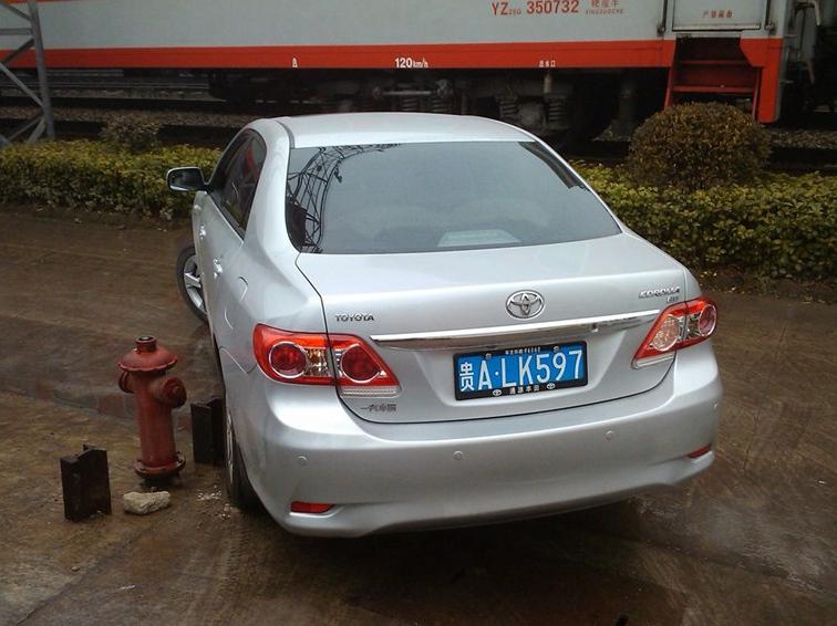 卡罗拉 2011款 1.8L CVT GLX-i车身外观图片
