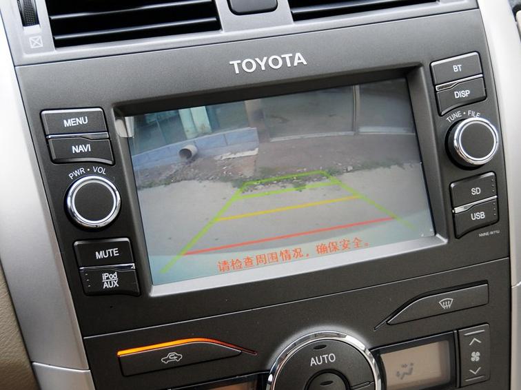 卡罗拉 2013款 特装版 1.8L CVT至酷版GL-i图片9