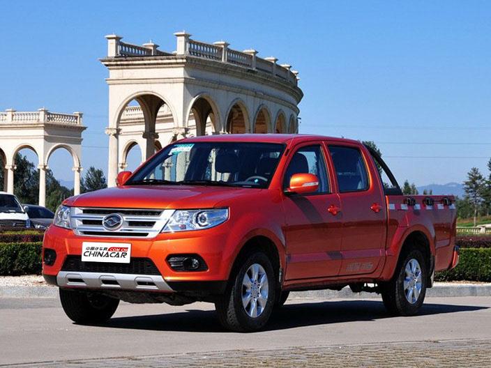 黄海N1 2015款 2.8T N1S 柴油两驱运动版JE493ZLQ4CB