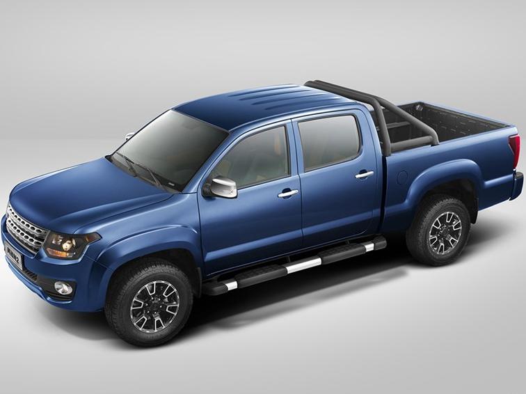 黄海N2 2015款 2.4L四驱汽油 至尊版
