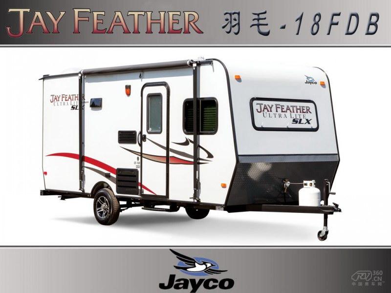 2014款美国Jayco拖挂A型羽毛-18FDB房车
