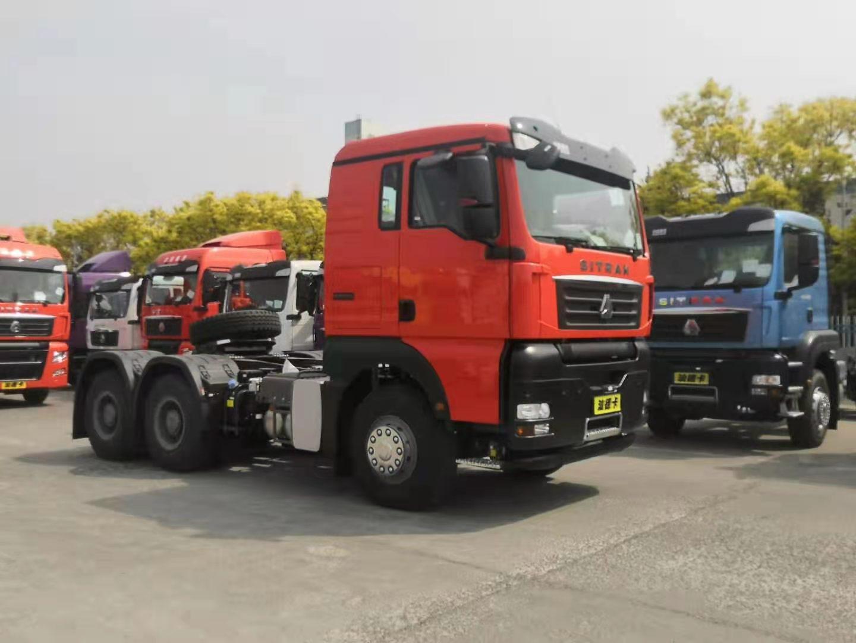 汕德卡牌ZZ5256V324HE1H型牵引汽车图片1