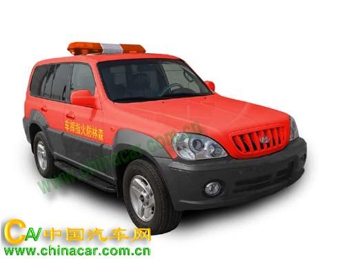 奥奔牌SDH5022XSLFH型森林防火指挥车图片1