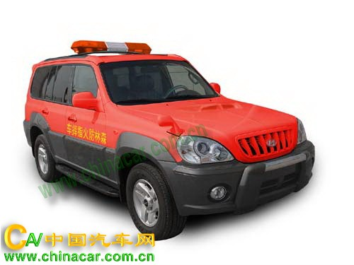 奥奔牌SDH5024XSLFH型森林防火指挥车图片2