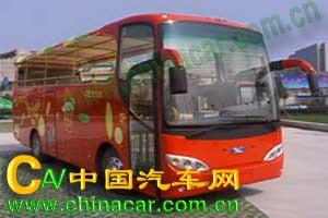 先飞牌HZG6920LQH型观光客车图片2