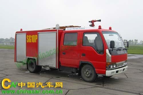 川消牌SXF5050GXFSG10P水罐消防车图片