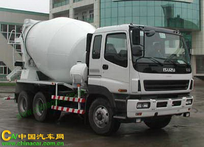 常林牌CHL5240GJBIS型混凝土搅拌运输车图片