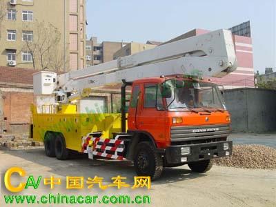 青专牌QDZ5220JGKE型高空作业车图片