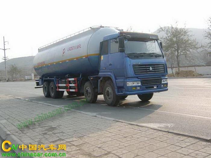 奥斯力牌LQZ5311GFL型粉粒物料运输车图片1