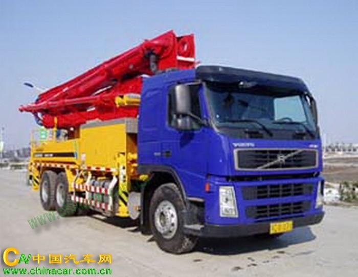 常林牌CHL5280THB型混凝土泵车图片