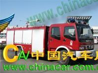 飞雁牌CX5132GXFSG50型水罐消防车图片