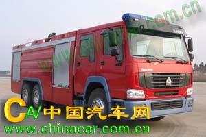 中卓时代牌ZXF5260GXFSG110型水罐消防车图片