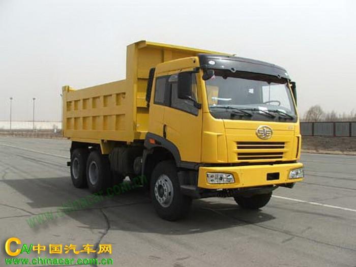 CA3202P2K2T1型解放牌6X4平头柴油自卸汽车图片1