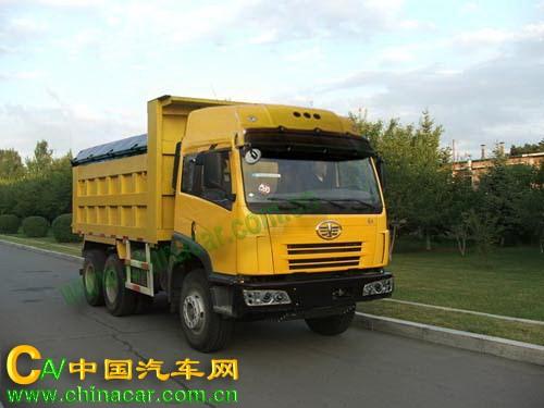 CA3202P2K2T1A型解放牌6X4平头柴油自卸汽车图片2