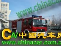 飞雁牌CX5220TXFDQ40型氮气消防车图片