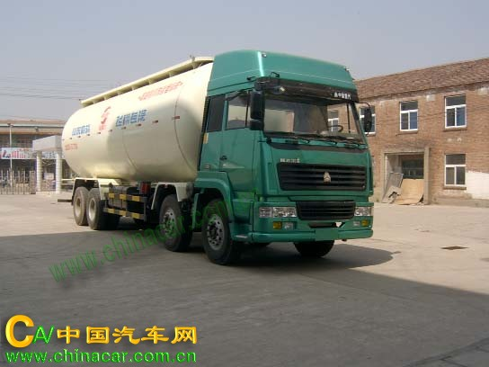 奥斯力牌LQZ5261GFL型粉粒物料运输车图片1
