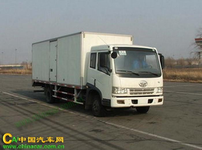 ca5083xxyp9k2l4a解放厢式运输汽车价格图片