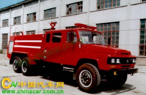 振翔牌MG5130GXFSG55型水罐消防车图片1