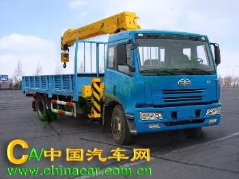春圆牌DCY5163JSQ型随车起重运输车图片