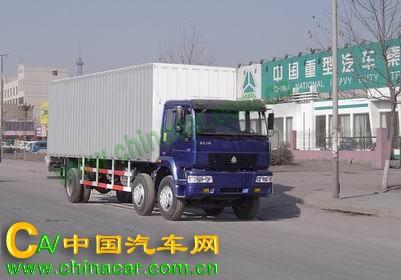 黄河牌ZZ5161XXYG52C5W型厢式运输车图片