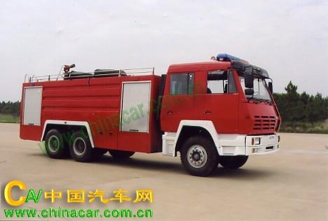 海潮牌BXF5250GXFSG110型水罐消防车图片