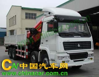 常林牌CHL5310JSQ型随车起重运输车图片