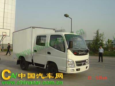 奥铃牌BJ5039V4DD3-C1型厢式运输车图片1