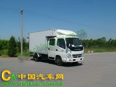 奥铃牌BJ5039V4DD3-C1型厢式运输车图片2