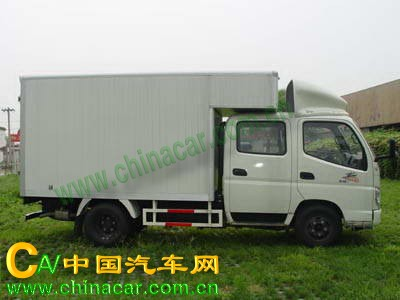 奥铃牌BJ5039V4DD3-C1型厢式运输车图片3
