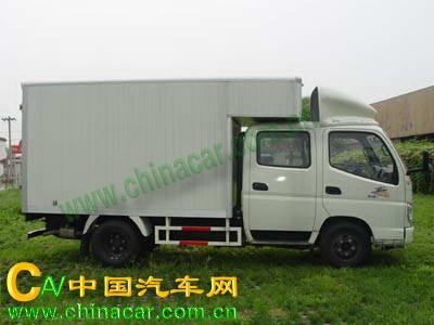 奥铃牌BJ5039V4DD3-A型厢式运输车图片2