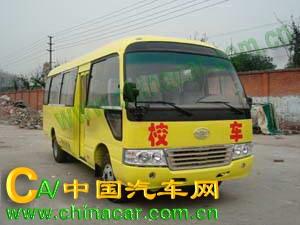 华西牌CDL6701XCDC型小学生校车图片1