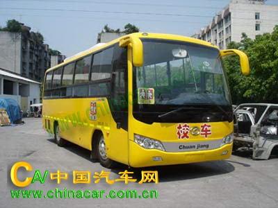 川江牌CJQ6870HKX型小学生校车图片1