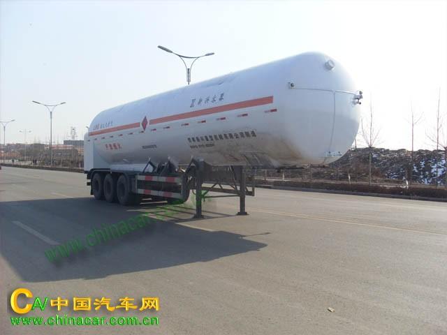 HDS9400GDY型宝环牌液化天然气运输半挂车图片1