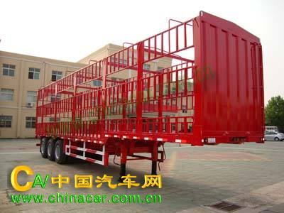 ZJV9400CCQDY型中集牌牲畜运输半挂车图片1