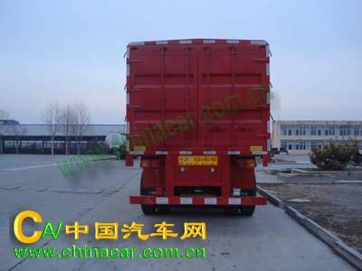ZJV9400CCQDY型中集牌牲畜运输半挂车图片2