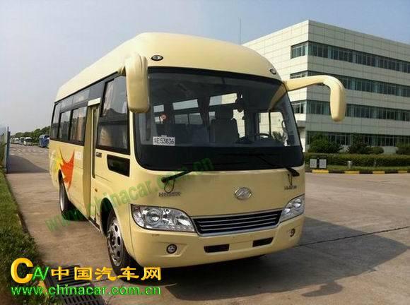 海格牌汽车图片 海格牌客车图片系列 klq6759e4型海格牌客车产品简介