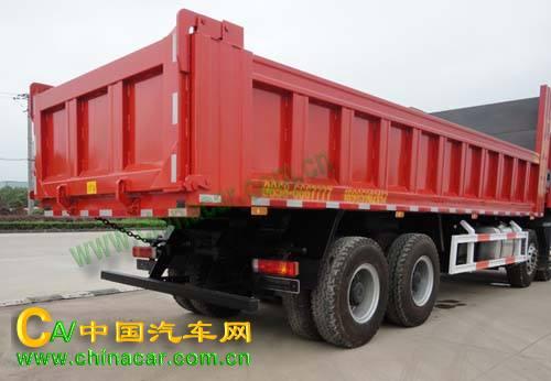 华威驰乐牌sgz3300bj3型自卸汽车图片