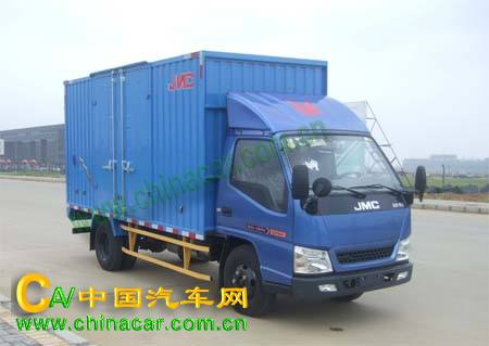 江铃牌JX5044XXYXGA2型厢式运输车图片
