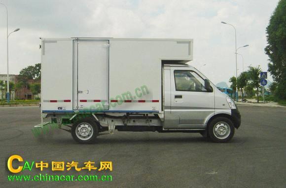 五菱牌lqg5029xxybdfa型厢式运输车图片图片