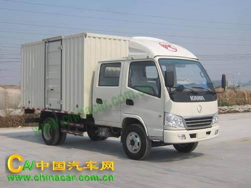 KMC5042XXY33S4凯马牌厢式运输车图片
