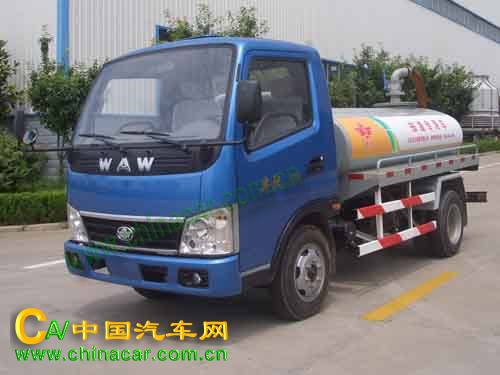 WL4025G1型五征牌罐式低速货车图片1
