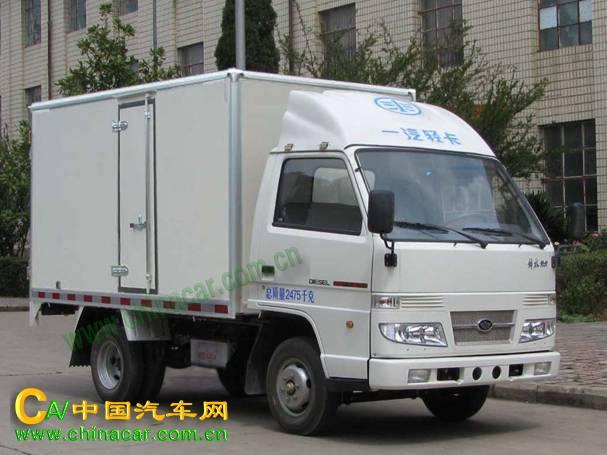解放牌汽车图片解放牌专用车图片系列 ca5020xxyk3e3型解放牌厢式运输