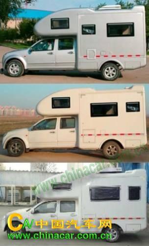 牌汽车图片|长城牌专用车图片系列|cc5021xljps05型长城牌旅居车图片3