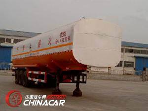 CTY9402GHY型通亚达牌化工液体运输半挂车图片1