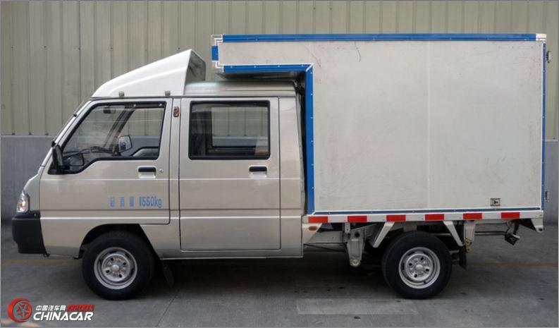 lzw5020xxyslnn3五菱双排座厢式运输车图片