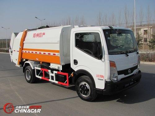日产(NISSAN)牌ZN5080ZYSA5Z型压缩式垃圾车