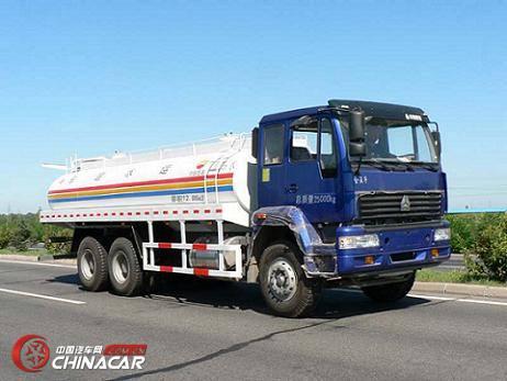 清泉牌JY5254GYS14型运水罐车图片