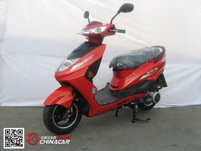 峰光牌fk125t-6a型两轮摩托车图片